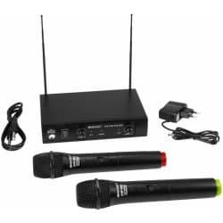 OMNITRONIC VHF-450 - recenze mikrofonu bezdrátových