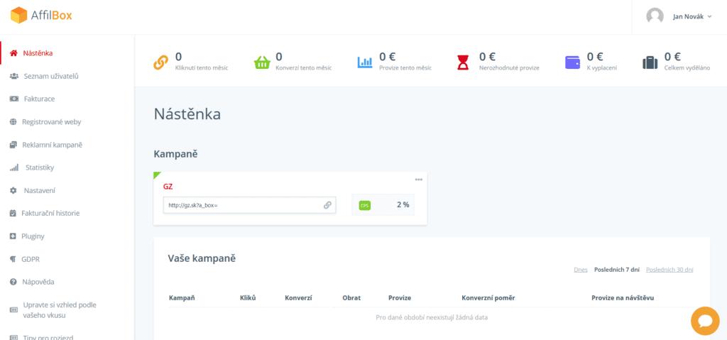 recenze Affilbox