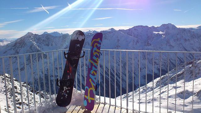 Design snowboardů