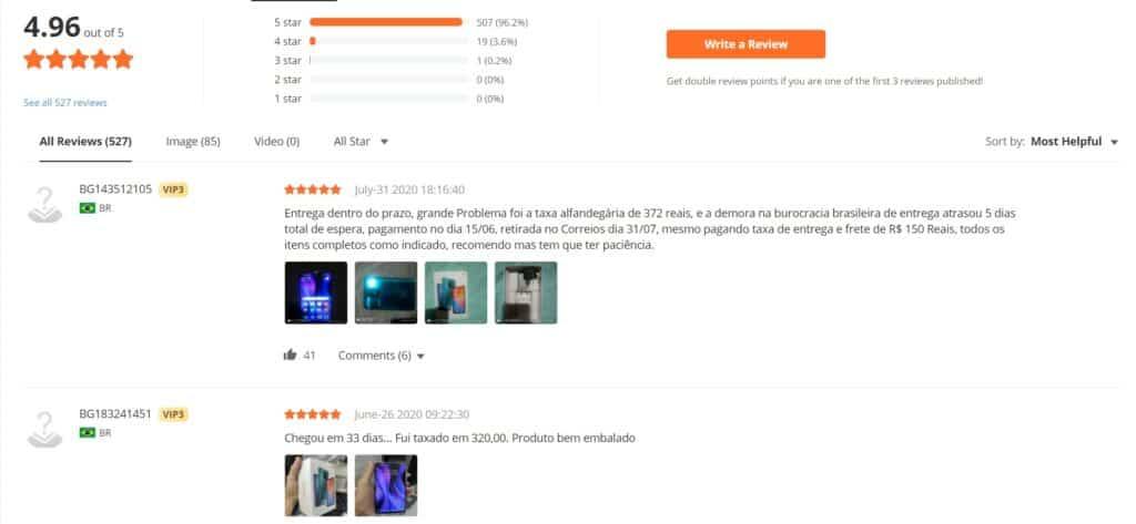 recenze produktů banggood