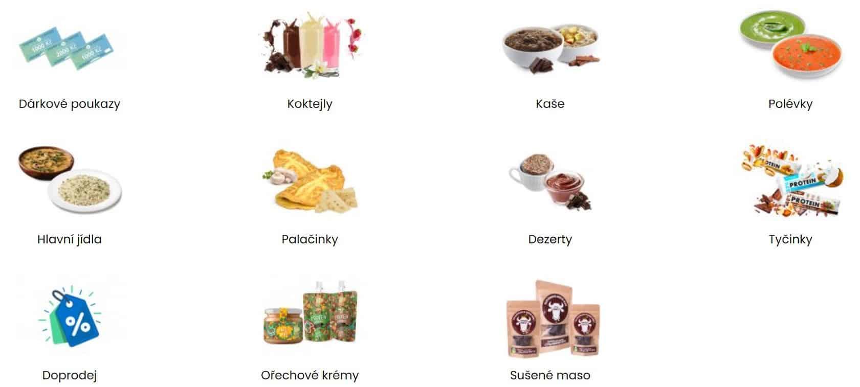 itsmylife nabídka potravin