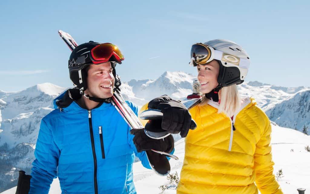 velikost lyžařské helmy