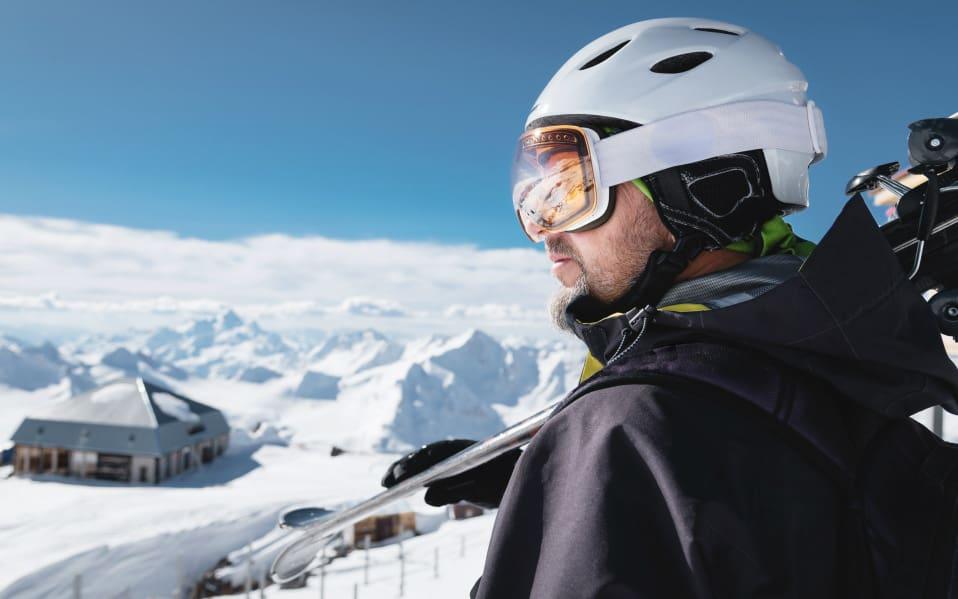 design lyžařské helmy