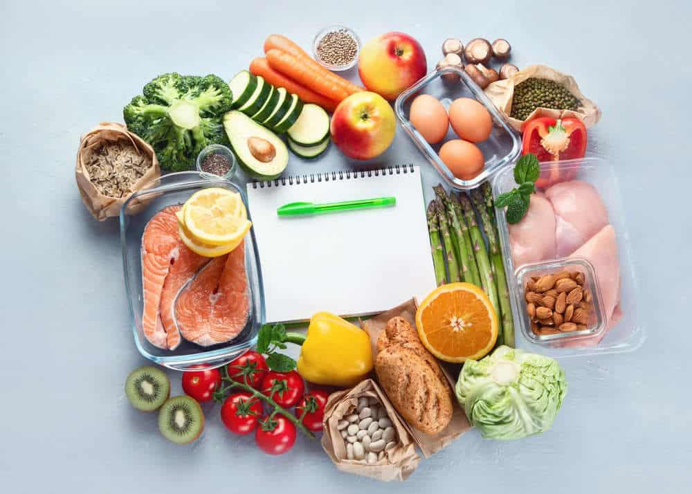 vhodné potraviny diety