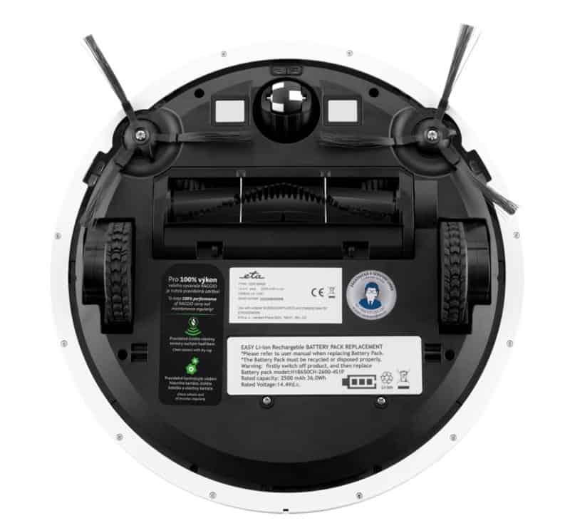 robotický vysavač ETA Raggio Eco 3225 90000