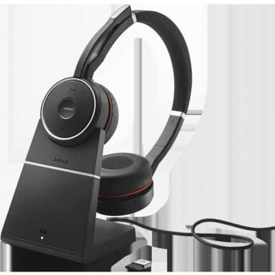 test Jabra Evolve 75 Stereo MS – nejlepší sluchátka s mikrofonem testu 2021