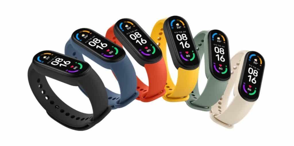 Xiaomi Mi Band 6 – nejlepší fitness náramek 2021