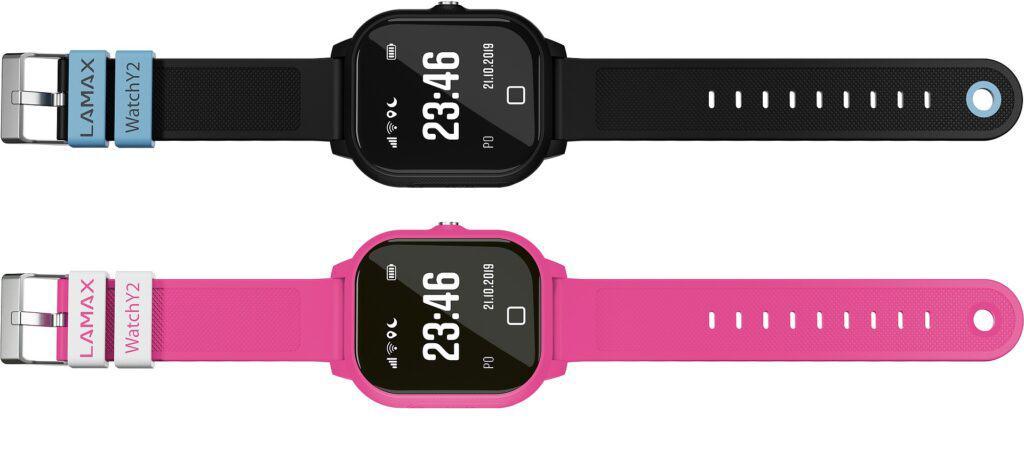 design a obsah balení smart hodinek pro děti