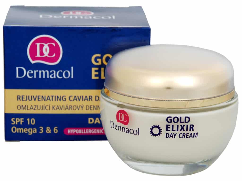 hodnocení krémů Dermacol Gold Elixir Rejuvenating Caviar Night Cream 50 ml