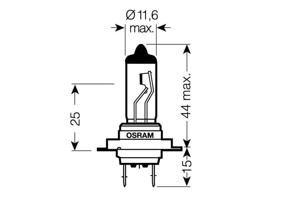 parametry autožárovky