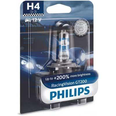Philips Racing Vision GT200 12342RGTB1 H4 P43t-38 12V 60/55W