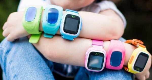 design dětských smart hodinek