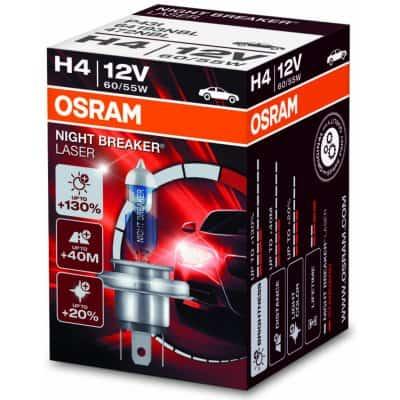Osram Night Breaker Laser 64193NBL H4 P43t-38 12V 60/55W