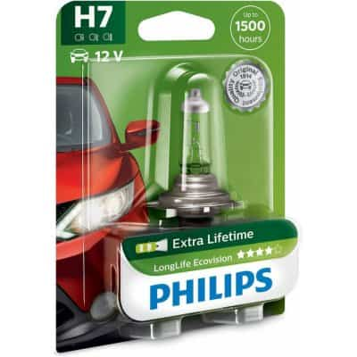 Philips LongLife EcoVision 12972LLECOB1 H7 PX26d 12V 55W