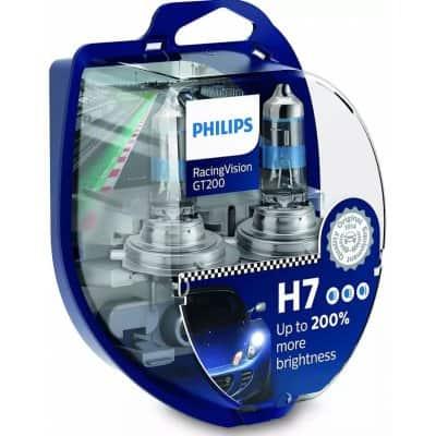 Philips RacingVision GT200 12972RGTS2 H7 PX26d 12V 55W 2 ks – autožárovky a jejich testy