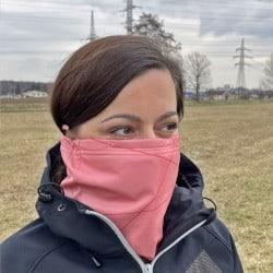 Antivirový šátek nanoSPACE – růžová barva