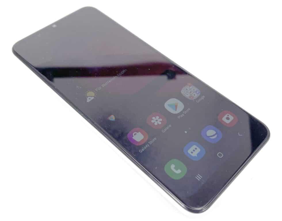 Samsung Galaxy A02s - displej, kvalita zobrazení