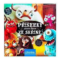 Desková hra Granna Příšerky ze skříně test a recenze