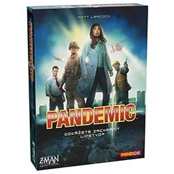 kooperativní stolní hra mindok pandemic test a recenze