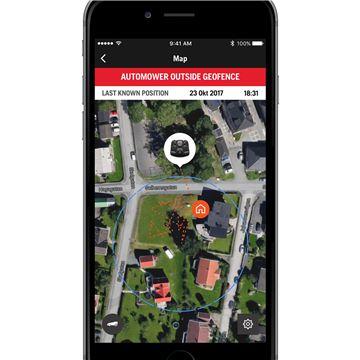 mobilní aplikace Husqvarna