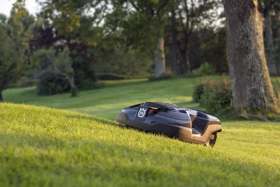 svah a sečení Husqvarna Automower 310