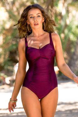 Jednodílné plavky Chloe Grape recenze