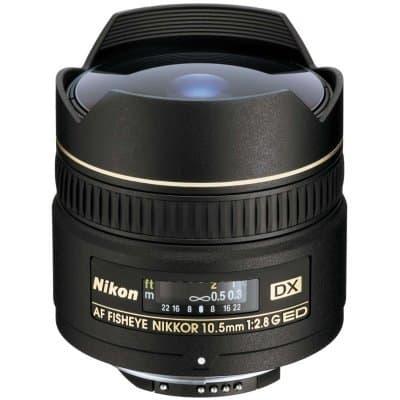 Nikon 10,5mm f/2,8G ED DX Fish Eye