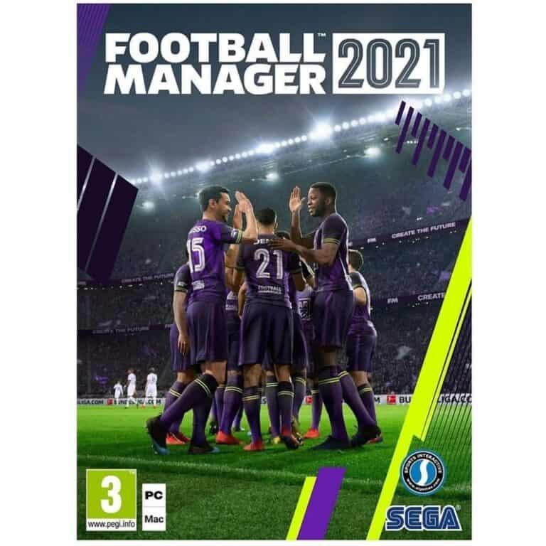 Football Manager 2021 recenze