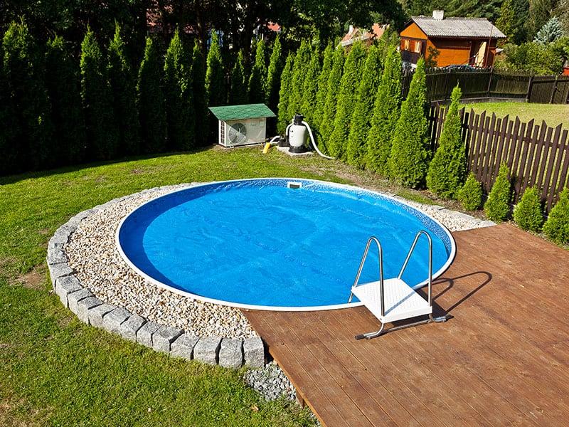 Plachta na bazén Mountfield