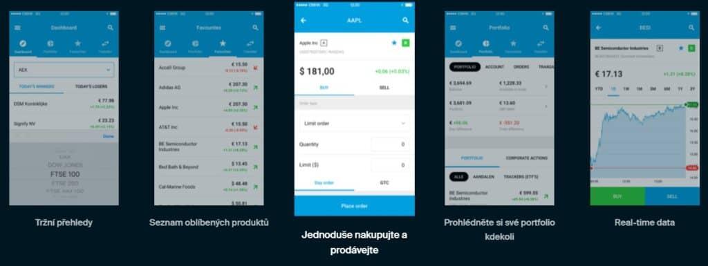 EGIRO - Online Trading App - Obchodování na burze
