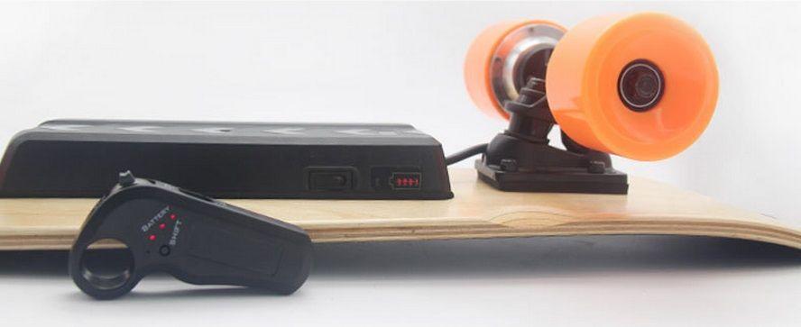 Elektrický skateboard na dálkové ovládání