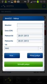 Aplikace – Fio Smartbroker