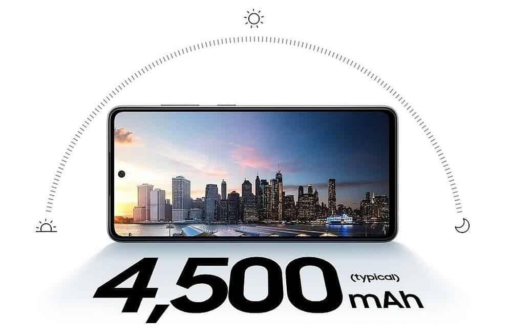 Výdrž baterie - Galaxy A52