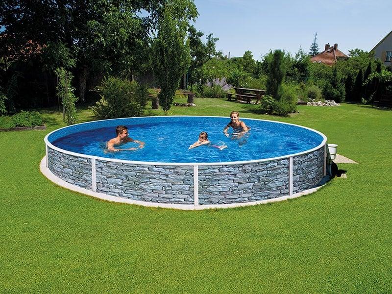 Bazén vhodní k zapuštění do země Azuro Vario Mountfield
