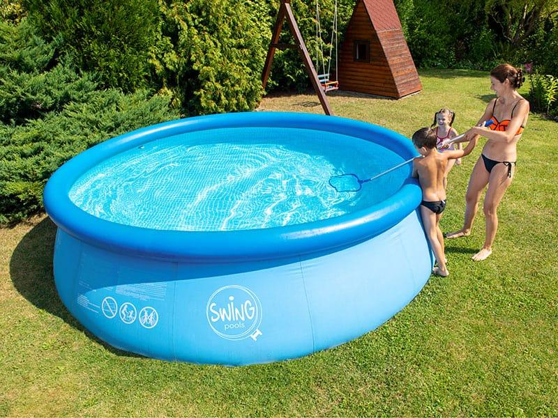 Nafukovací bazén údržba