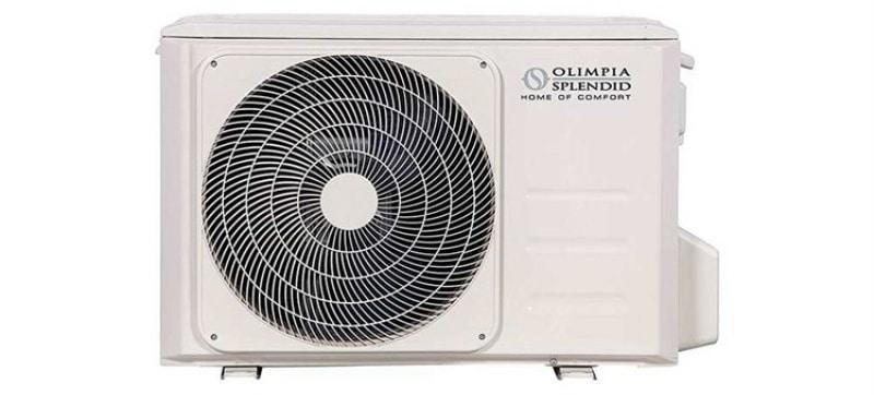 venkovní kondenzační jednotka klimatizace