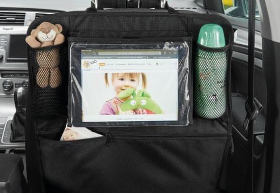 Organizér do auta s držákem na tablet recenze