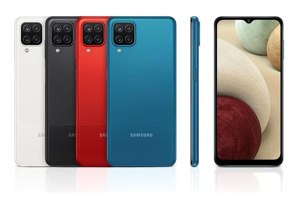 testy Samsungu Galaxy A12