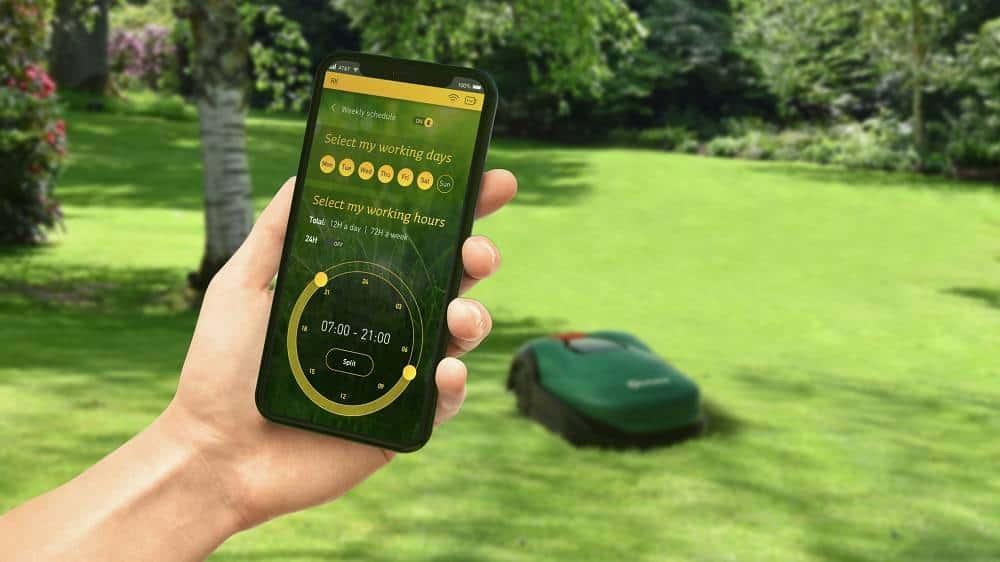 Robomow mobilní aplikace recenze