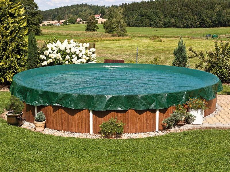 Zazimování celoročního zahradního bazénu