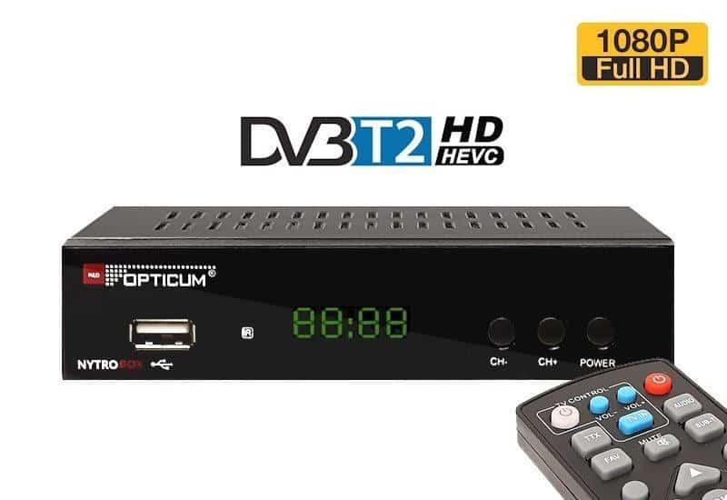 Set-top box DVB-T2