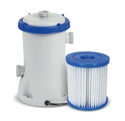 kartušová filtrace vířivky