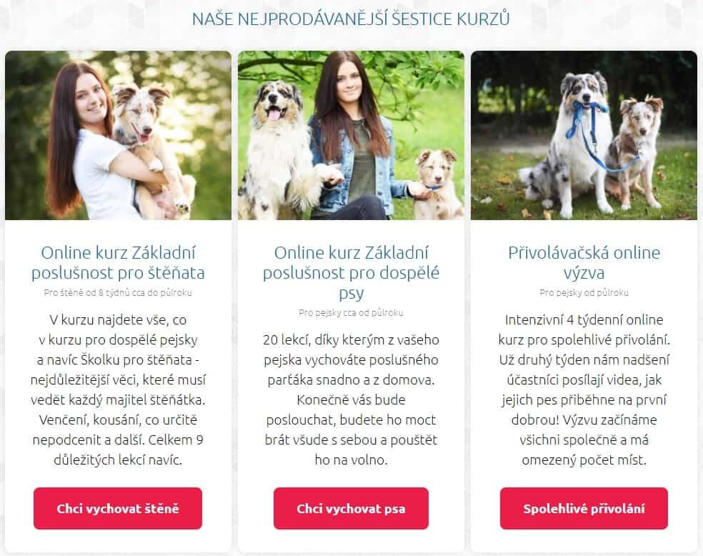 online programy výcviku psů