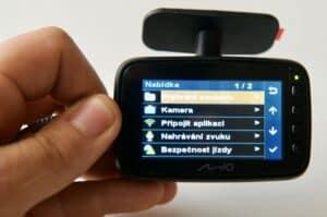 funkce autokamery Mio MiVue 818
