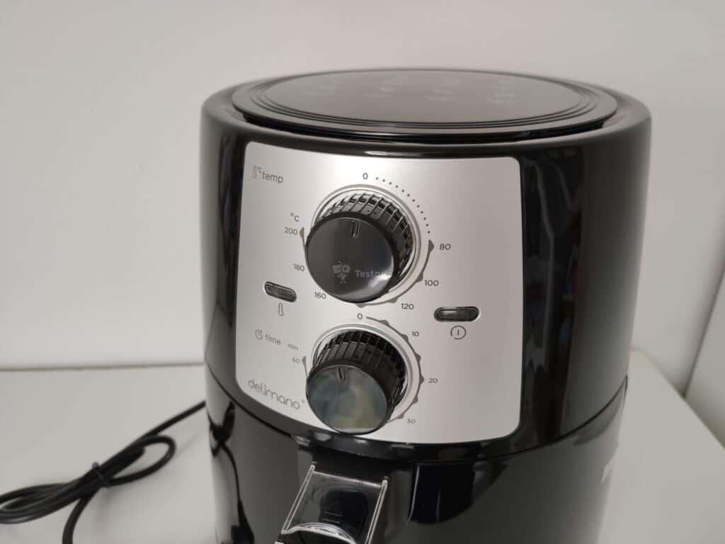 recenze a test Delimano Air Fryer Pro 3,5l