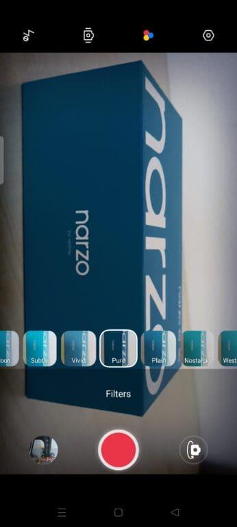 Realme Narzo 30 5G systém a nastavení