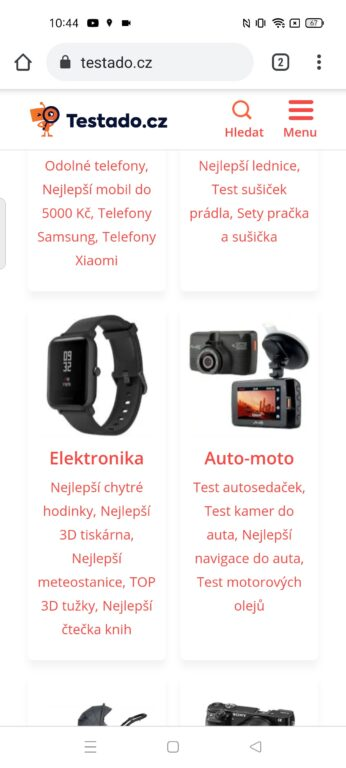 recenze displeje Realme Narzo 30 5G