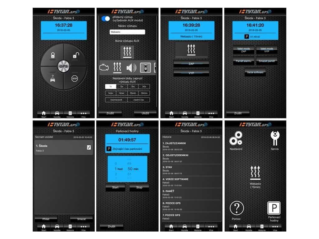 Autoalarm Tytan - mobilní aplikace recenze