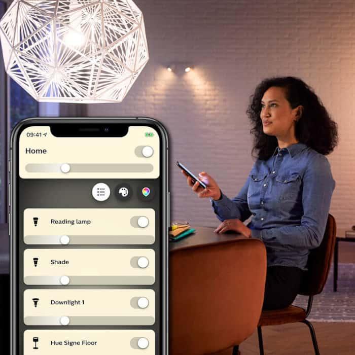 chytré žárovky - Možnosti připojení