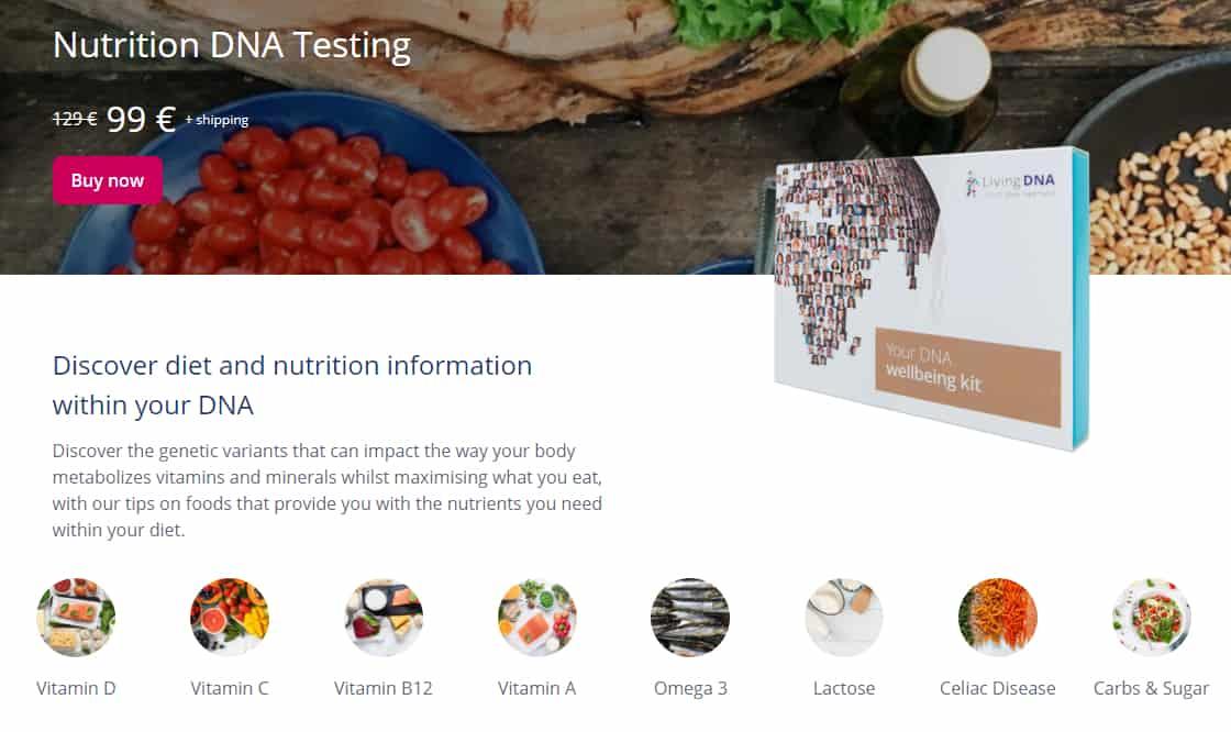 LivingDNA zdravotní test recenze